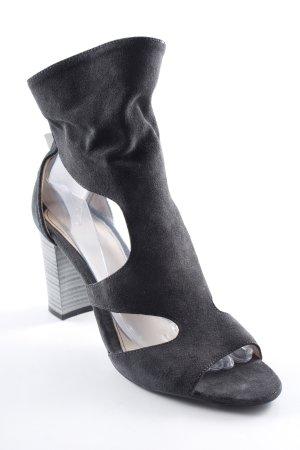 Zara Trafaluc Pumps met hoge zool taupe-lichtgrijs elegant