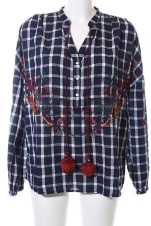 Zara Trafaluc Chemise de bûcheron motif à carreaux style décontracté
