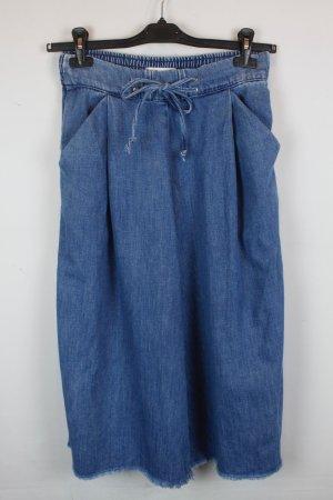 Zara Trafaluc Hose Culottes Gr. S denim blue