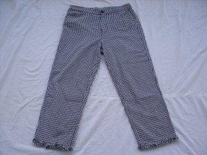Zara Trafaluc 7/8-broek wit-zwart Katoen