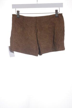 Zara Trafaluc Short moulant brun style mode des rues