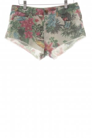 Zara Trafaluc Hot Pants mehrfarbig Casual-Look