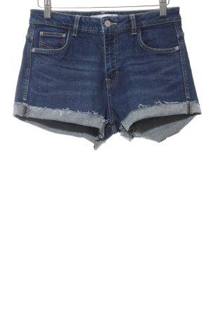 Zara Trafaluc Hüftjeans dunkelblau Jeans-Optik