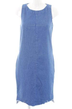 Zara Trafaluc Jeanskleid blau Allover-Druck Casual-Look