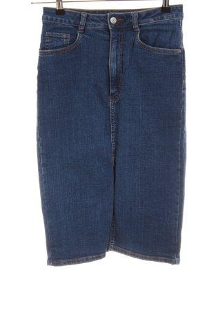 Zara Trafaluc Gonna di jeans blu stile casual