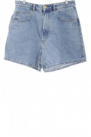 28de195d569b3 Zara Trafaluc Denim Shorts blue casual look