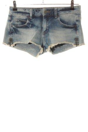Zara Trafaluc Pantaloncino di jeans blu stile casual