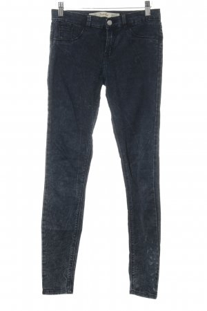 Zara Trafaluc Jeggings dunkelblau Casual-Look