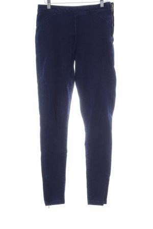 Zara Trafaluc Jeggings dunkelblau Jeans-Optik
