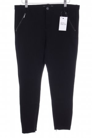 Zara Trafaluc Jeggings schwarz-silberfarben Casual-Look