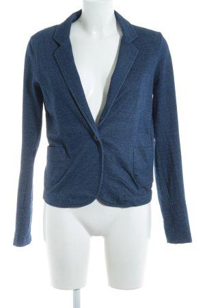 Zara Trafaluc Jerseyblazer blau Jeans-Optik