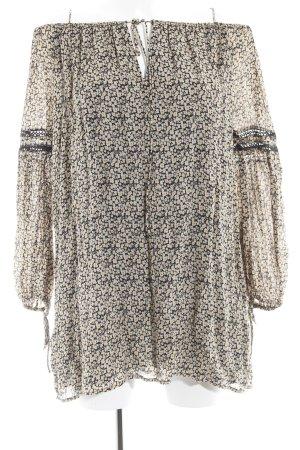 Zara Trafaluc Jersey Dress flower pattern romantic style
