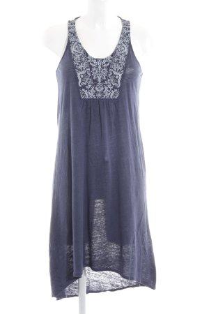 Zara Trafaluc Jerseykleid neonblau Casual-Look