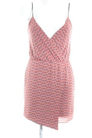 Zara Trafaluc Jerseykleid Ikatmuster Beach-Look