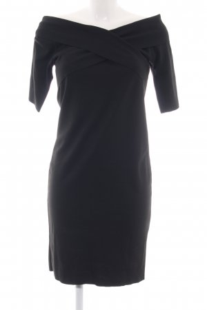 Zara Trafaluc Vestido de tela de jersey negro estilo «business»