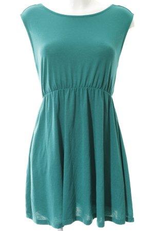 Zara Trafaluc Jerseykleid waldgrün Casual-Look