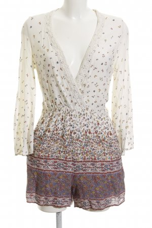 Zara Trafaluc Jumpsuit florales Muster Casual-Look