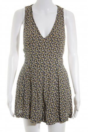 Zara Trafaluc Jumpsuit florales Muster Street-Fashion-Look