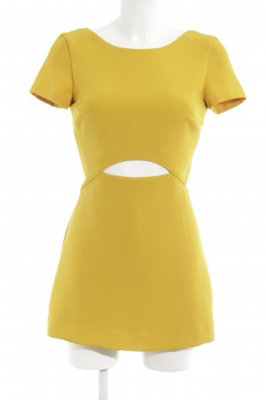 Zara Trafaluc Tuta giallo-oro stile stravagante