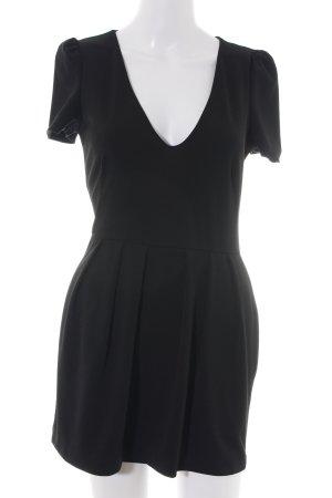 Zara Trafaluc Jumpsuit schwarz Business-Look
