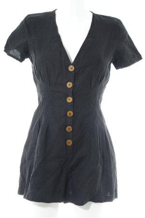 Zara Trafaluc Jumpsuit schwarz minimalistischer Stil