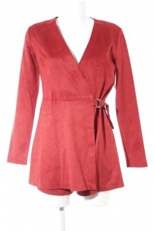 Zara Trafaluc Tuta rosso mattone stile casual