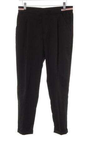 Zara Trafaluc Pantalone peg-top nero stile casual