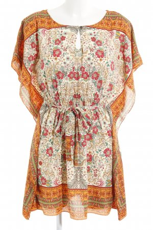 Zara Trafaluc Kimono-Bluse Blumenmuster Boho-Look