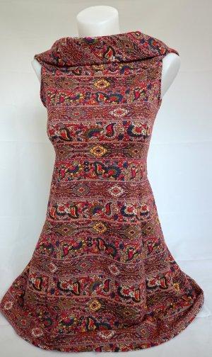 Zara Trafaluc Kleid mit Ornamentenmuster (Gr. S)