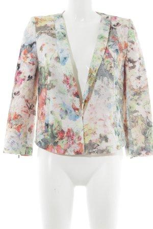 Zara Trafaluc Kurz-Blazer abstraktes Muster Elegant