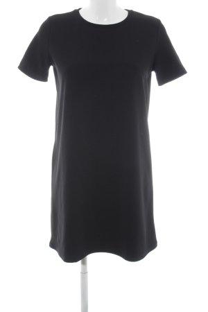 Zara Trafaluc Kurzarmkleid schwarz schlichter Stil