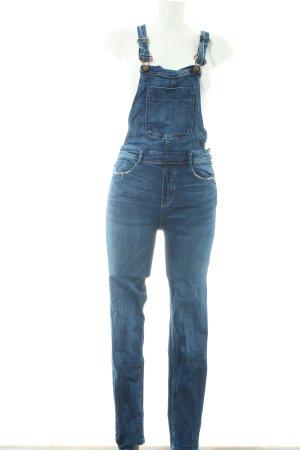 Zara Trafaluc Jeans met bovenstuk donkerblauw casual uitstraling