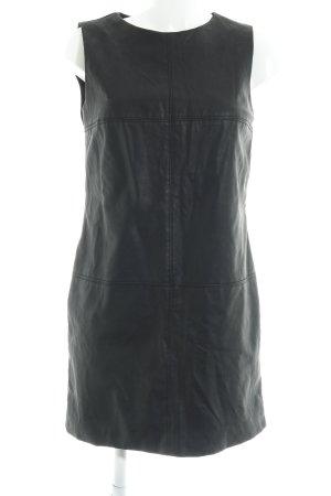 Zara Trafaluc Lederkleid schwarz Elegant