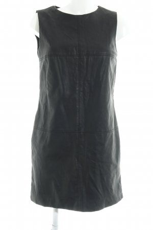 Zara Trafaluc Leather Dress black elegant