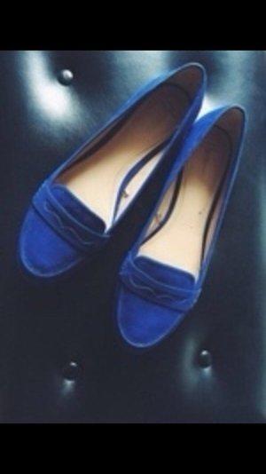 ZARA Trafaluc Loafer blau
