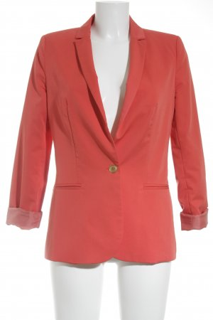 Zara Trafaluc Long-Blazer lachs Casual-Look
