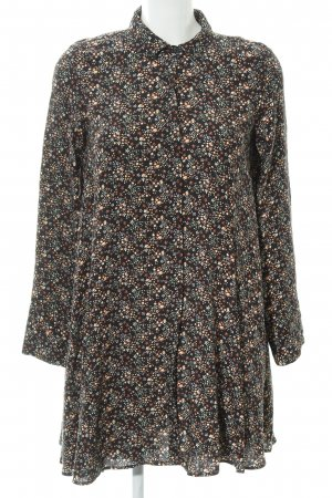 Zara Trafaluc Long-Bluse Blumenmuster