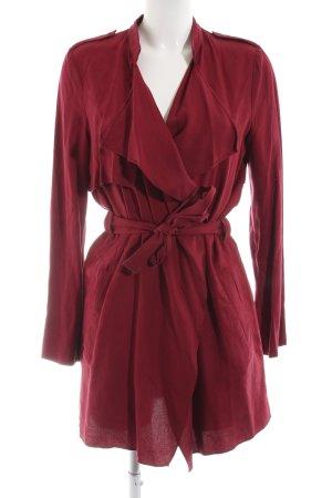 Zara Trafaluc Robe manteau rouge style décontracté