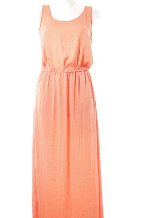 Zara Trafaluc Maxikleid apricot Casual-Look