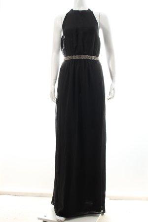 Zara Trafaluc Maxikleid schwarz Elegant