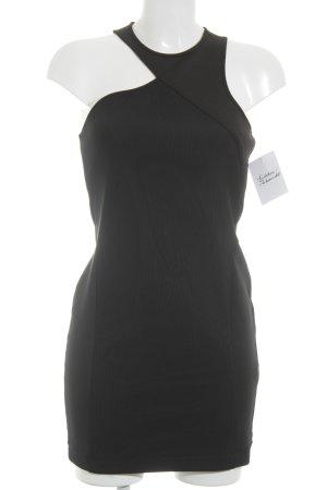 Zara Trafaluc Midikleid schwarz Elegant