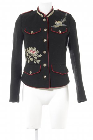 Zara Trafaluc Militaryjacke mehrfarbig extravaganter Stil