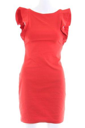Zara Trafaluc Minikleid rot Elegant