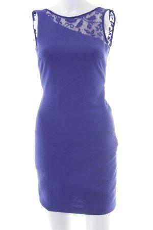 Zara Trafaluc Minikleid blau Party-Look