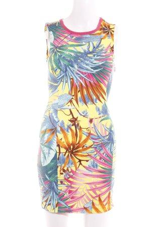 Zara Trafaluc Minikleid florales Muster extravaganter Stil