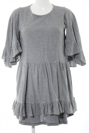Zara Trafaluc Minikleid grau Casual-Look