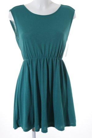 Zara Trafaluc Minikleid grün Casual-Look