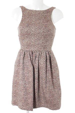 Zara Trafaluc Minikleid Punktemuster Elegant
