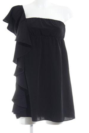Zara Trafaluc Minikleid schwarz minimalistischer Stil