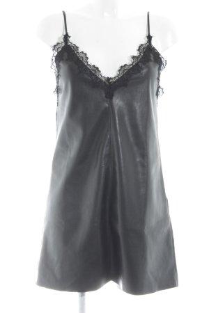 Zara Trafaluc Minikleid schwarz Party-Look